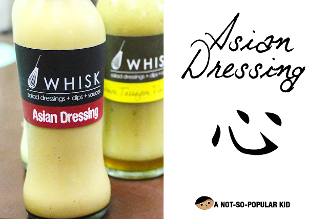 Whisk's Asian Dressing - Creamy and flavorful!