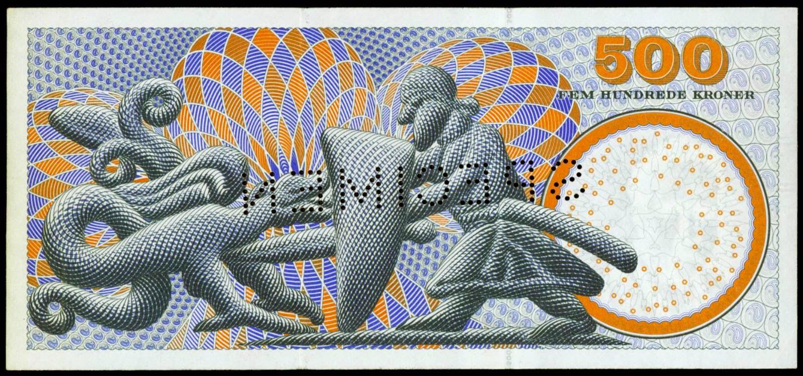 Banknotes of Denmark 500 Kroner