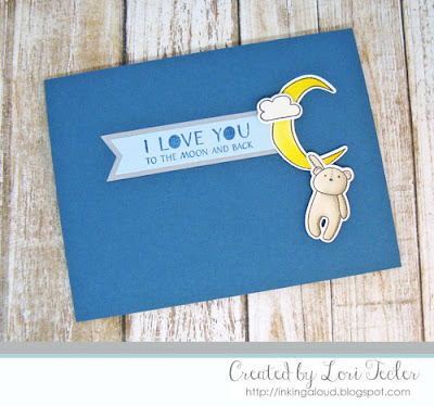 To the Moon and Back card-designed by Lori Tecler/Inking Aloud-stamps and dies from WPlus9