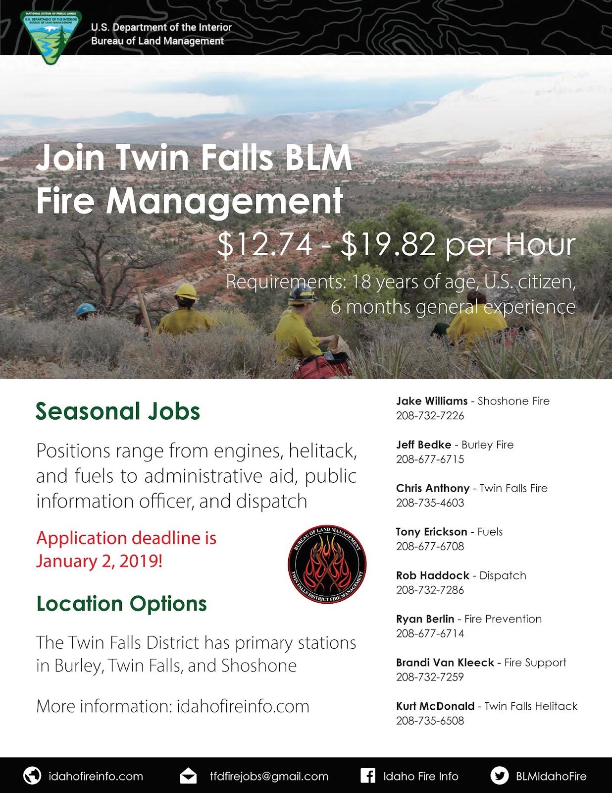 Idaho Fire Information