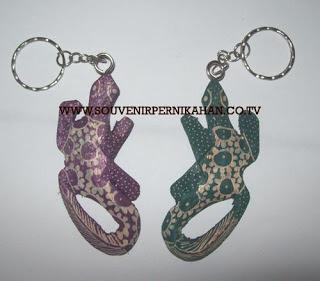 Souvenir Pernikahan Gantungan Kunci Batik Jogjakarta 9