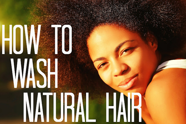 The Best Way To Wash Natural Hair