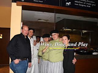 The chef's and crew with Wine Dine and Play at the Frevo restaurant in Dubai
