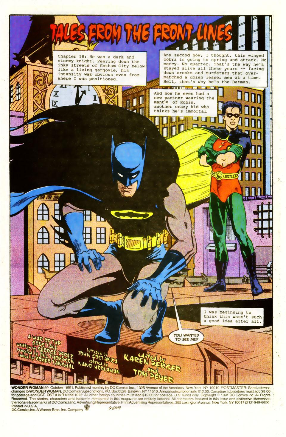 Read online Wonder Woman (1987) comic -  Issue #59 - 3