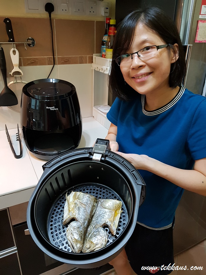 How to cook fish with Russell Taylors Air Fryer-My Honest Review