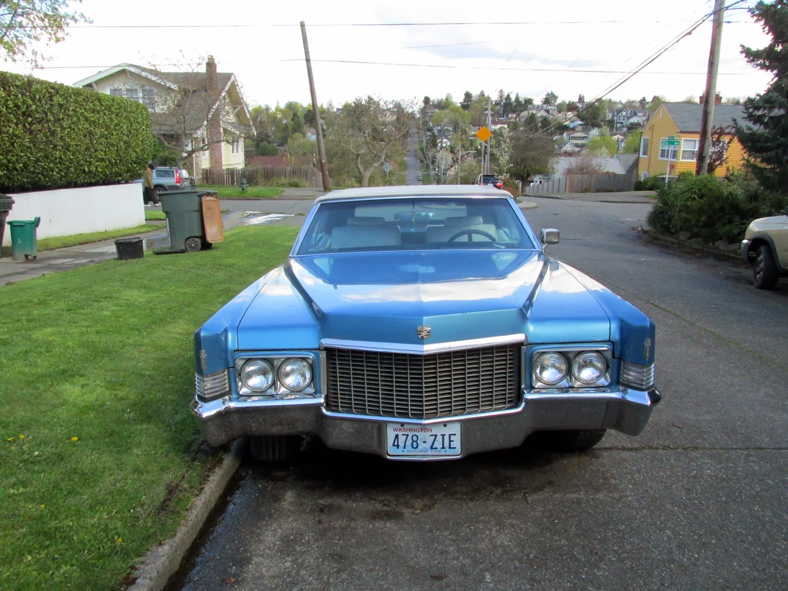 Seattle's Classics: 1970 Cadillac DeVille Convertible