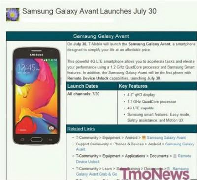 Samsung Galaxy Avant Akan Dibekali Fitur Remote Unlock
