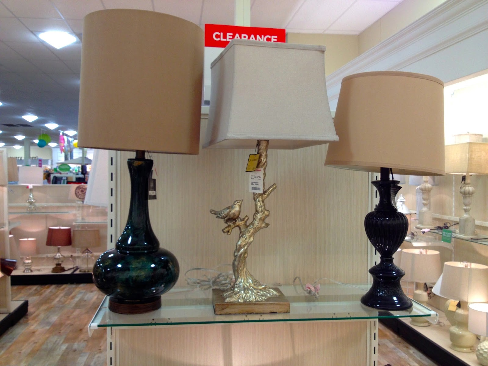 Mel & Liza: Lamp Clearance at Home Goods