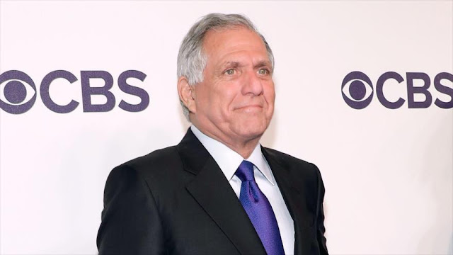 Jefe de canal estadounidense CBS es acusado de abuso sexual
