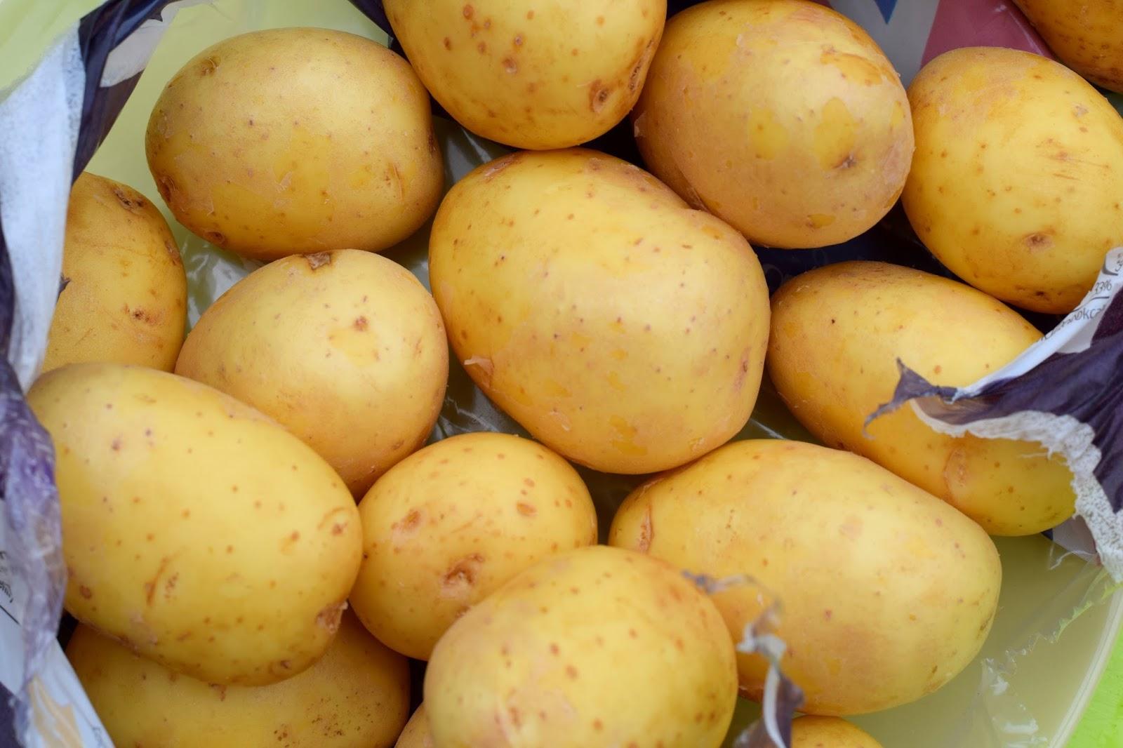 New potatoes