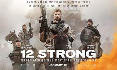 """Daftar Kumpulan Lagu Soundtrack Film 12 Strong (2018)"""