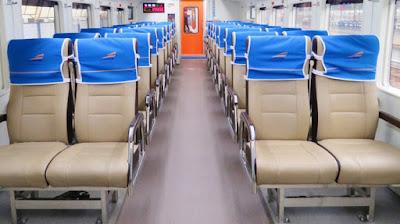 Interior Kereta K3 2016