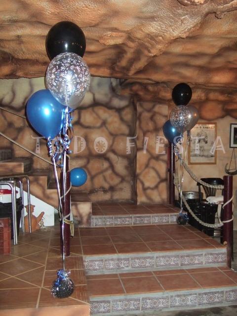 Decoraci n con globos de todo fiesta decoraciones para - Decoracion de mesas cumpleanos adultos ...