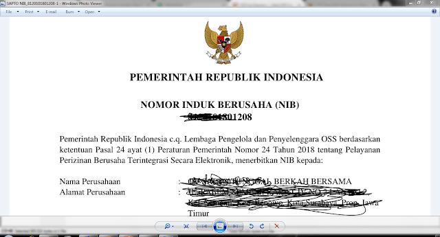 Syarat menjadi importir ( Update) dengan NIB-Nomor Induk Berusaha