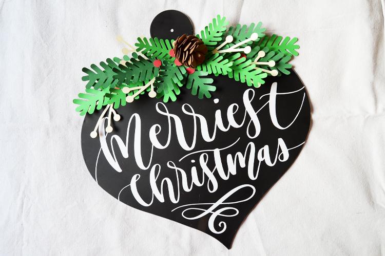 Merriest Christmas Door Hanger