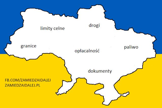 Jazda po Ukrainie autem - plusy i minusy