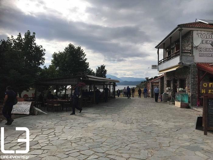 ΣΤΟ ΧΩΡΙΟ ΨΑΡΑΔΕΣ ΟΙ ΥΠΟΓΡΑΦΕΣ ΓΙΑ ΤΗ ΣΥΜΦΩΝΙΑ ΜΕ ΤΗ πΓΔΜ
