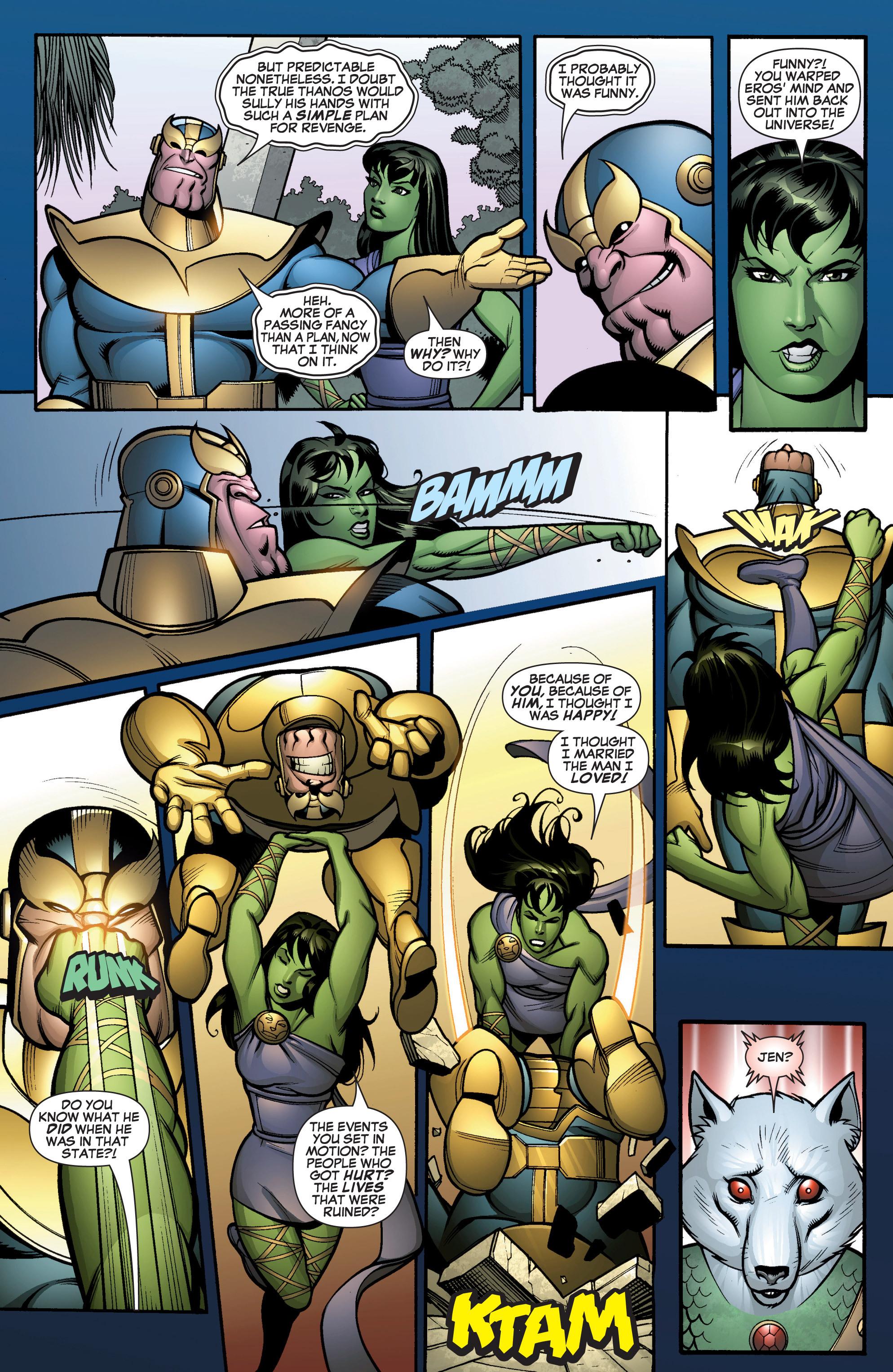 Read online She-Hulk (2005) comic -  Issue #13 - 21