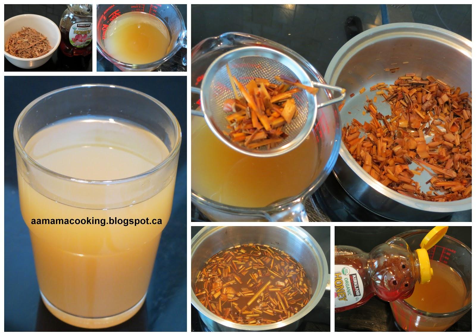 AA mama: 蜂蜜香茅茶 (乾香茅葉) Honey Lemongrass Tea