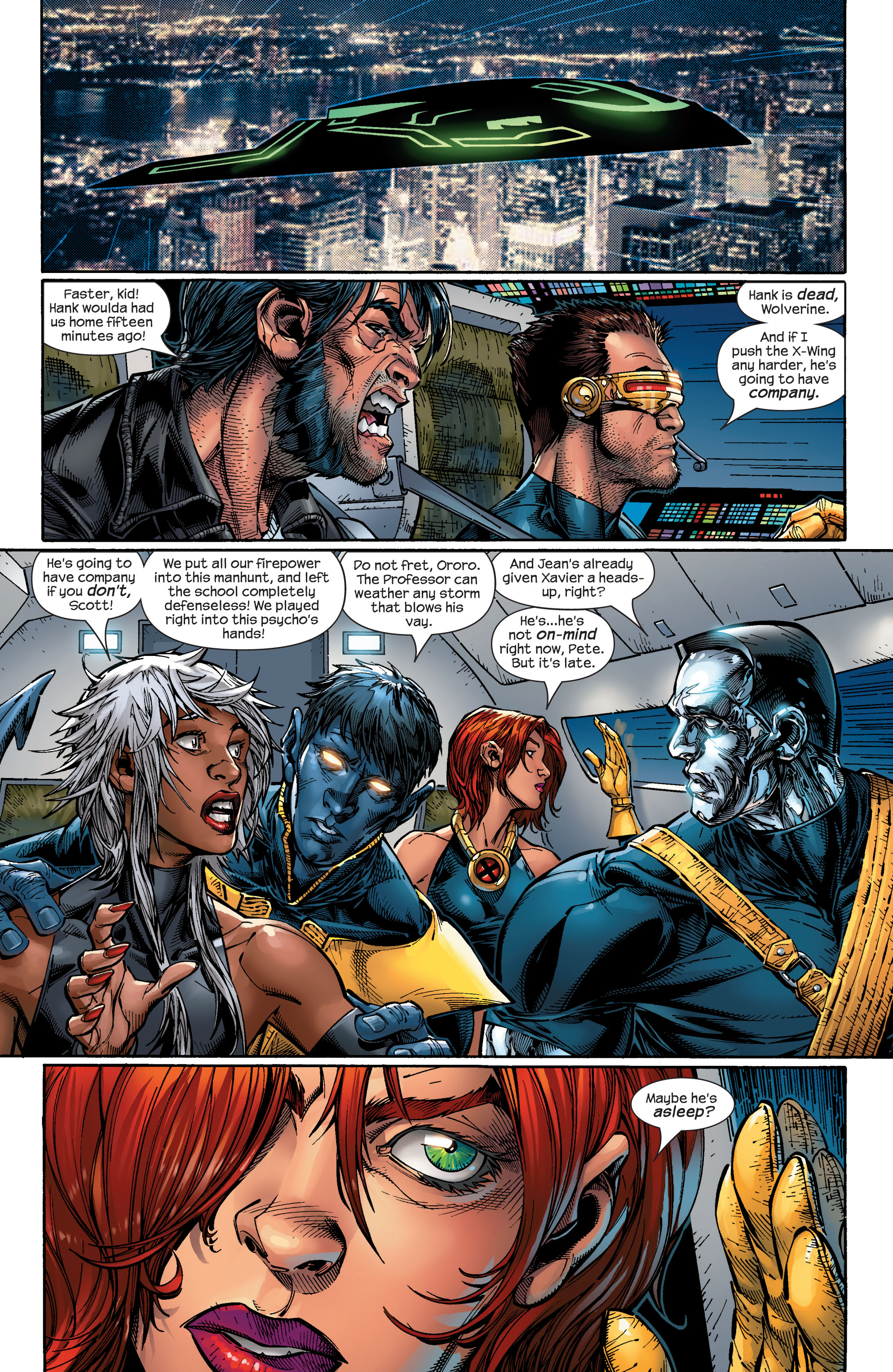 Read online Ultimate X-Men comic -  Issue #49 - 7