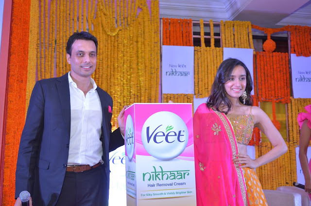 Veet launches Nikhaar, Shraddha Kapoor