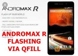 CARA FLASING ANDROMAX R (I4D1G) VIA QFILL TESTED