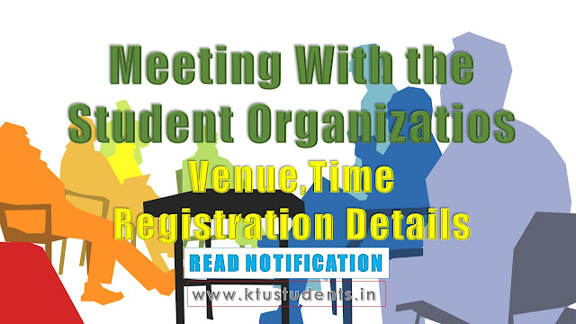 Meeting with the student organizations shifted to Conference Hall of Annexe II, Govt. Secretariat at 02.30 p.m and to be chaired by Hon'ble Minister for Education