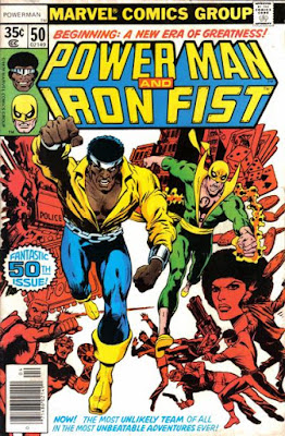 Power Man (and Iron Fist) #50