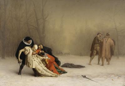 Duelo después del baile de máscaras, Jean-Léon Gérôme