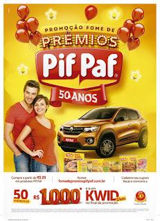 Promoção Pif Paf 2018
