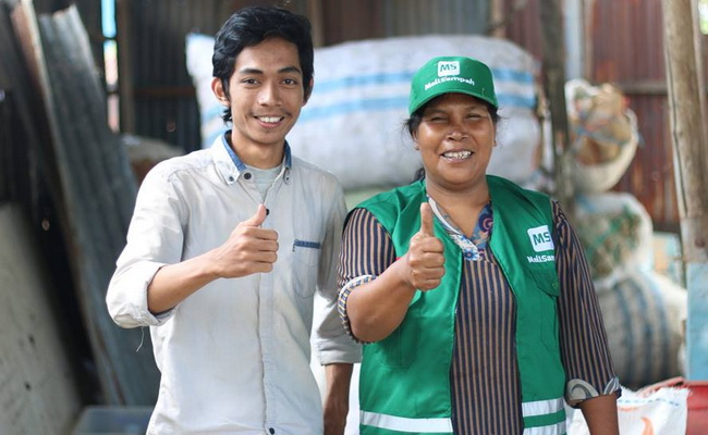 Tinuku Mallsampah app meet sellers and buyers for garbage business
