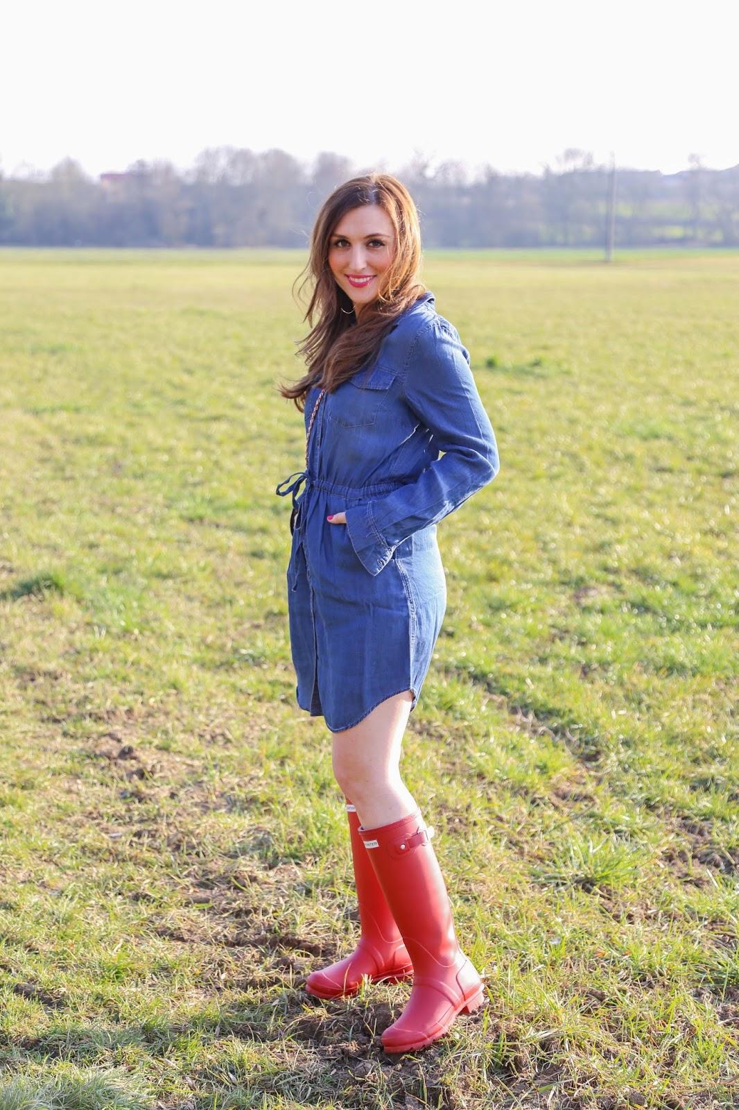 Fashionblogger aus Deutschlang - German Fashionblogger - Fashionblog - Outfitinspiration - Hunter Gummiestiefel - Fashinstylebyjohanna