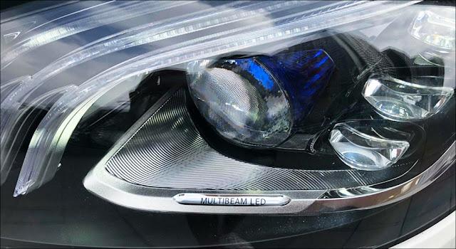 Hệ thống đèn trước Mercedes S450 L 2019