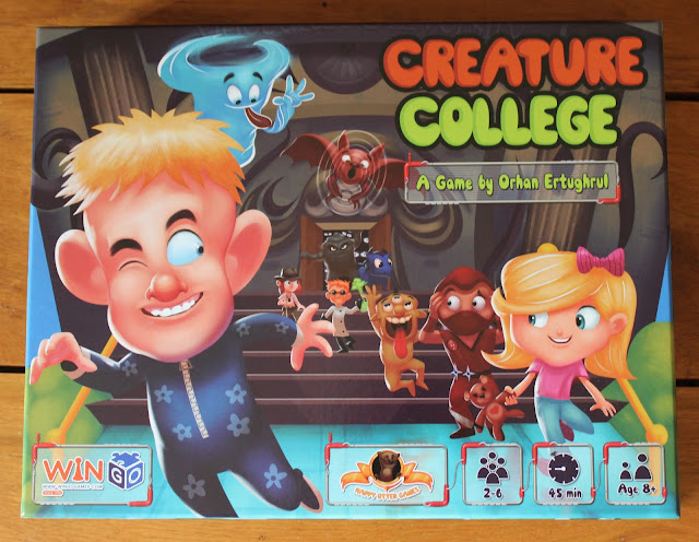 Creature College box art