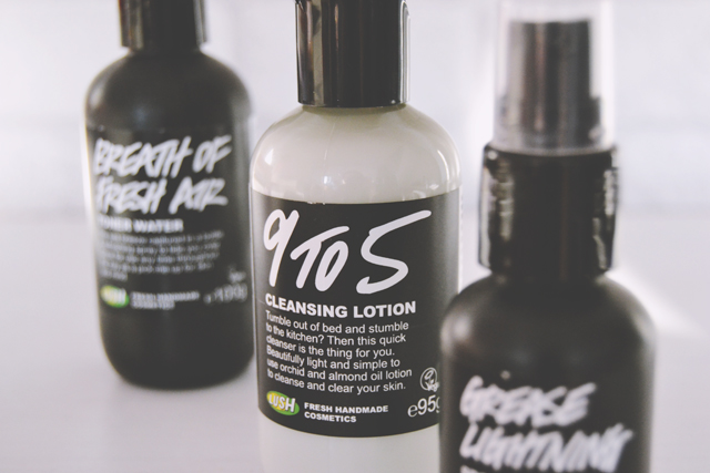 Lush Cleanser and Toner