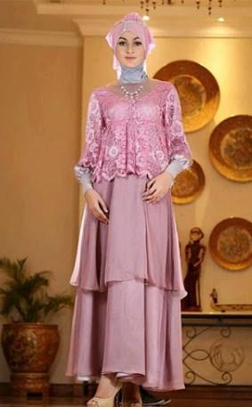Model Kebaya Muslim pesta
