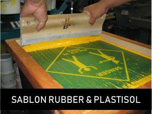 Sablon Rubber & Plastisol - Desainerkaos.com