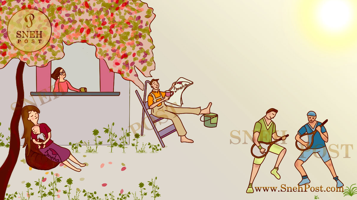 Sneh Post about best lifestyle blog cartoon illustration by Sneha