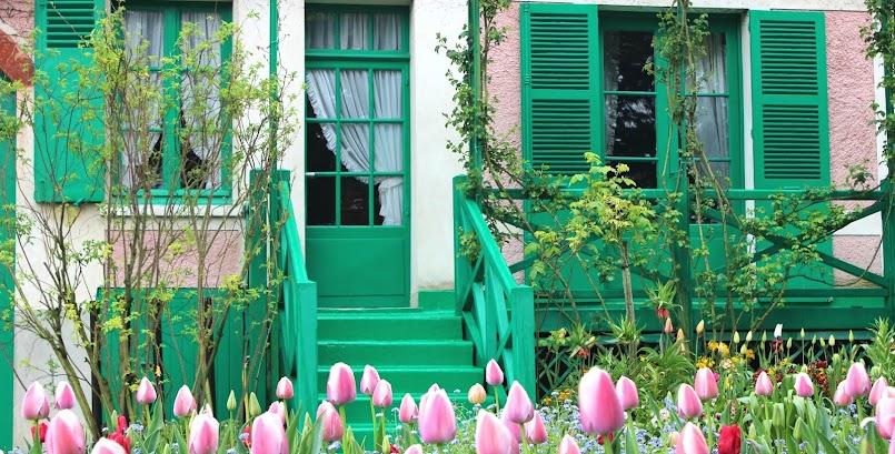 Wiosna w ogrodzie Moneta w Giverny / Le printemps chez Monet à Giverny