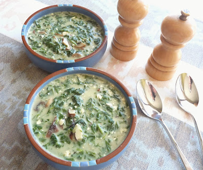 Spinach & Mushroom Soup
