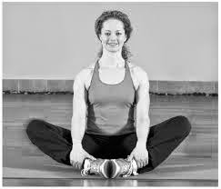 Cobbler's Yoga pose to lose weight from thighs