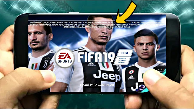 FTS 19 MOD FIFA 19 Android 200 Mb Best Graphics HD Offline
