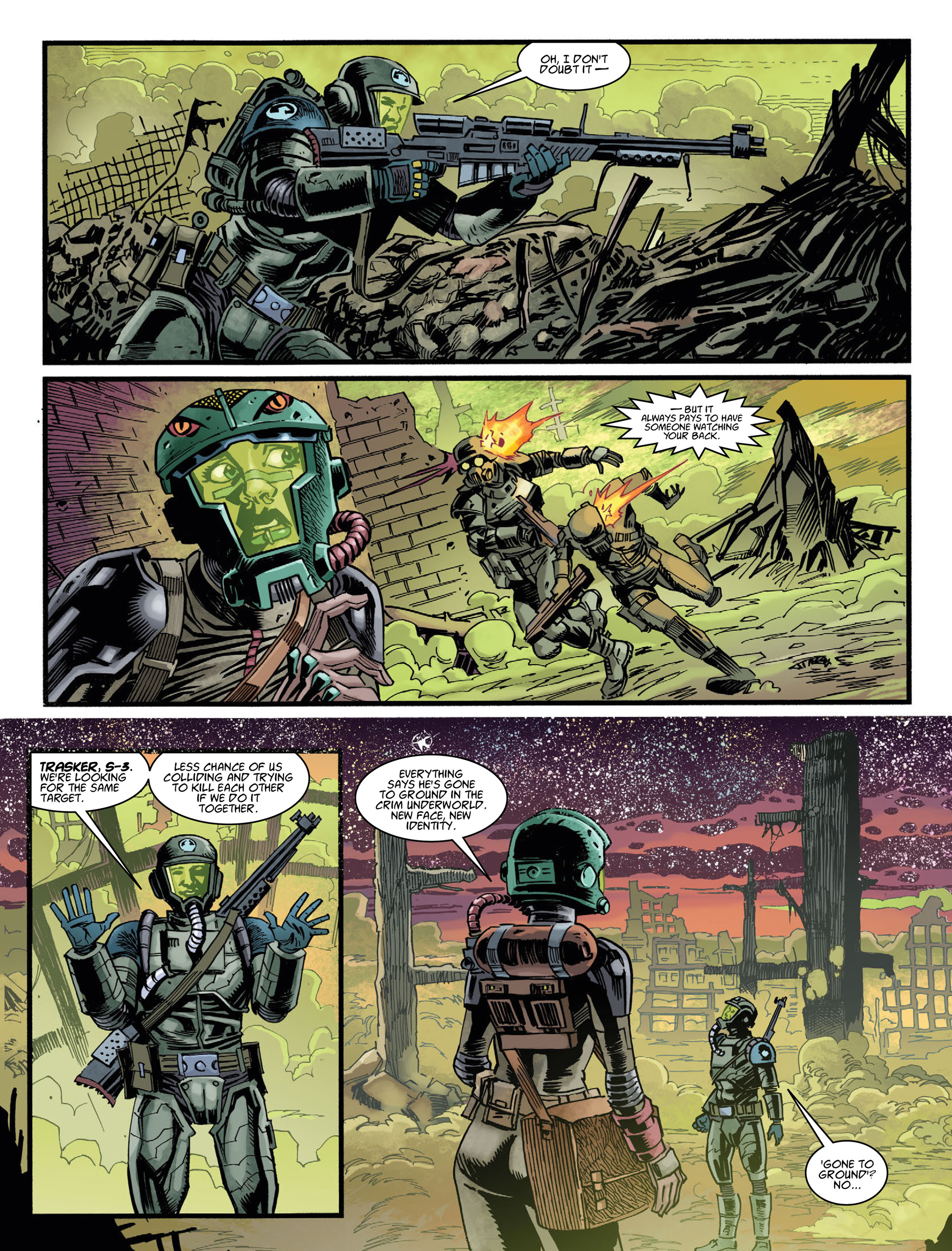 Read online 2000 AD comic -  Issue #2036 - 29