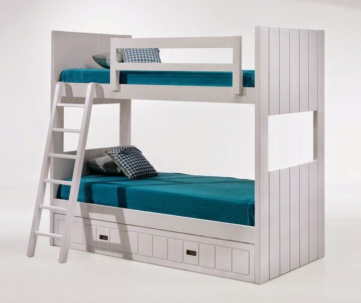 Literas de tres camas - Escalera cama infantil ...