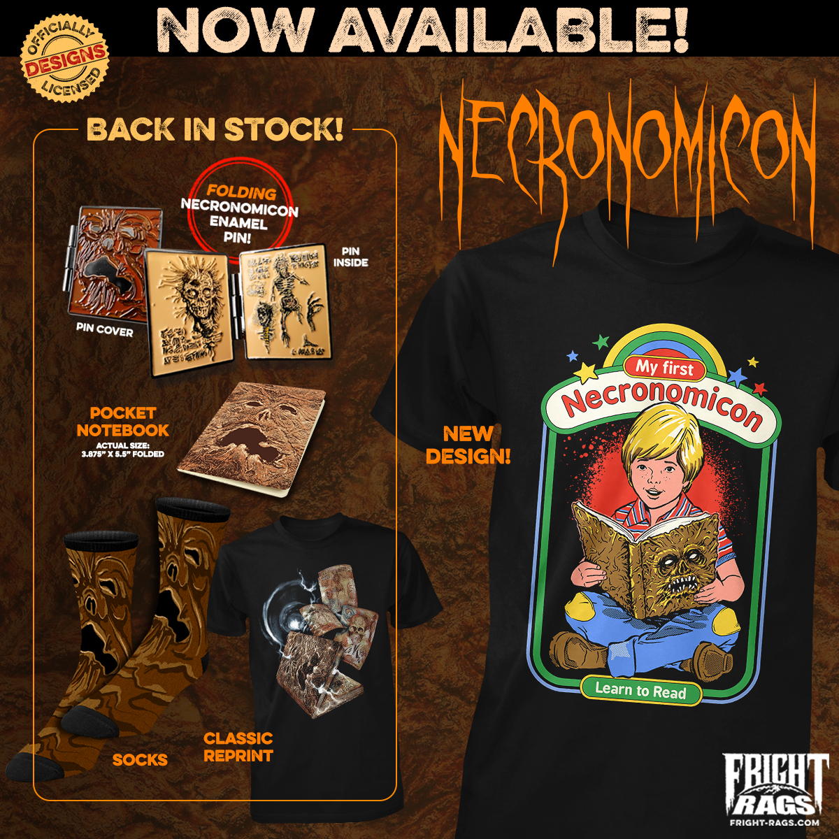The Dead Will Walk The Earth in Fright-Rags' Gear
