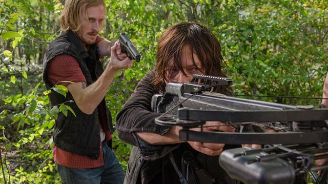 "Daryl en el 6x15 ""East"" de 'The Walking Dead'"