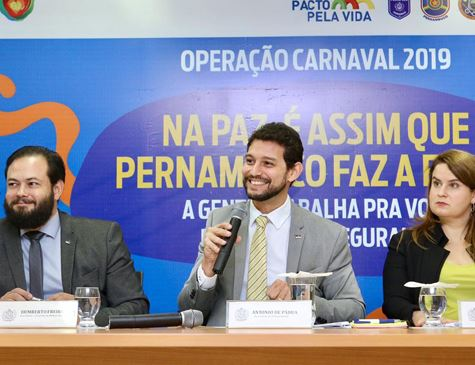 SDS divulga esquema de segurança para o Carnaval 2019