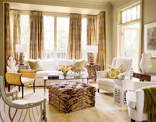 formal living room curtains salas animal print ideas para decorar dise 241 ar y mejorar 14634