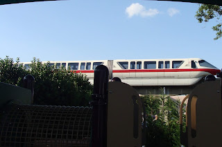 Monorail Red Disney World