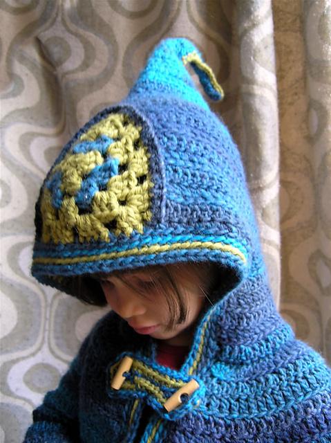sweterek dla dziecka ze wzorem i tutorialem